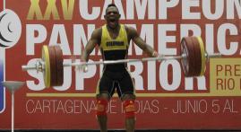 Del suelo al cielo: la historia del pesista Andrés Mauricio Caicedo