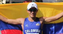 Los maestros que hicieron de Éider Arévalo el campeón mundial de marcha