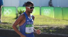 Esteban Soto, la marcha de un opita destinado a ser atleta