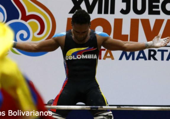 Colombia supera la mitad de los Juegos Bolivarianos como líder