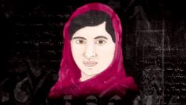 Malala, ganadora el Nobel de Paz.